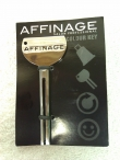 Affinage tube key.