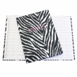 Funky Zebra Appointment Book  ( 3 column )