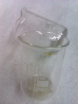 Hive of Beauty 100ml clear glass measure