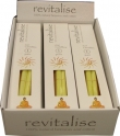 Revitalise 100 percent Natural Beeswax & Cotton Ear Candles ( Box of 12 pairs )