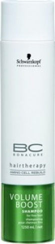 Schwarzkopf BonaCure Volume Boost Sampoo 1000ml
