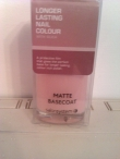 Salon System Matte Basecoat 15ml