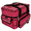 The Edge Roo Beauty Bag Pink Snake with Pink Inside