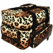 The Edge Roo Beauty Bag Leopard with Black Inside