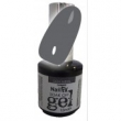 The edge Nail Fix Soak Off UV Gel ( Gun Metal ) 15 ml