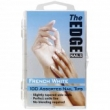 The Edge French White Tips 100 ASSTD (boxed)