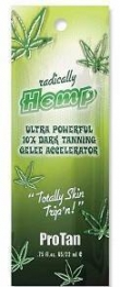 Pro Tan Radically HEMP Ultra Powerful Dark Tanning Gelee 22ml