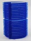 Velcro rollers - large blue 40mm