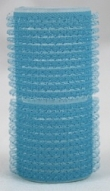 Velcro rollers - light blue 28mm