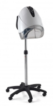 REM Elan Mobile Salon Dryer Hood including pole & base white