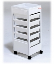 REM White Studio / Beauty flat top Trolley