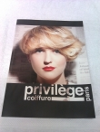 Priviledge Coiffure Paris 72 Page Style Book