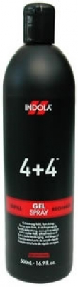 Indola 4+4 Gel Spray Refill 500ml
