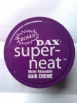 DAX super-neat Water Rinseable Hair Creme 114gm 4 oz.