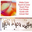 Wella Colour Touch Shade Guide